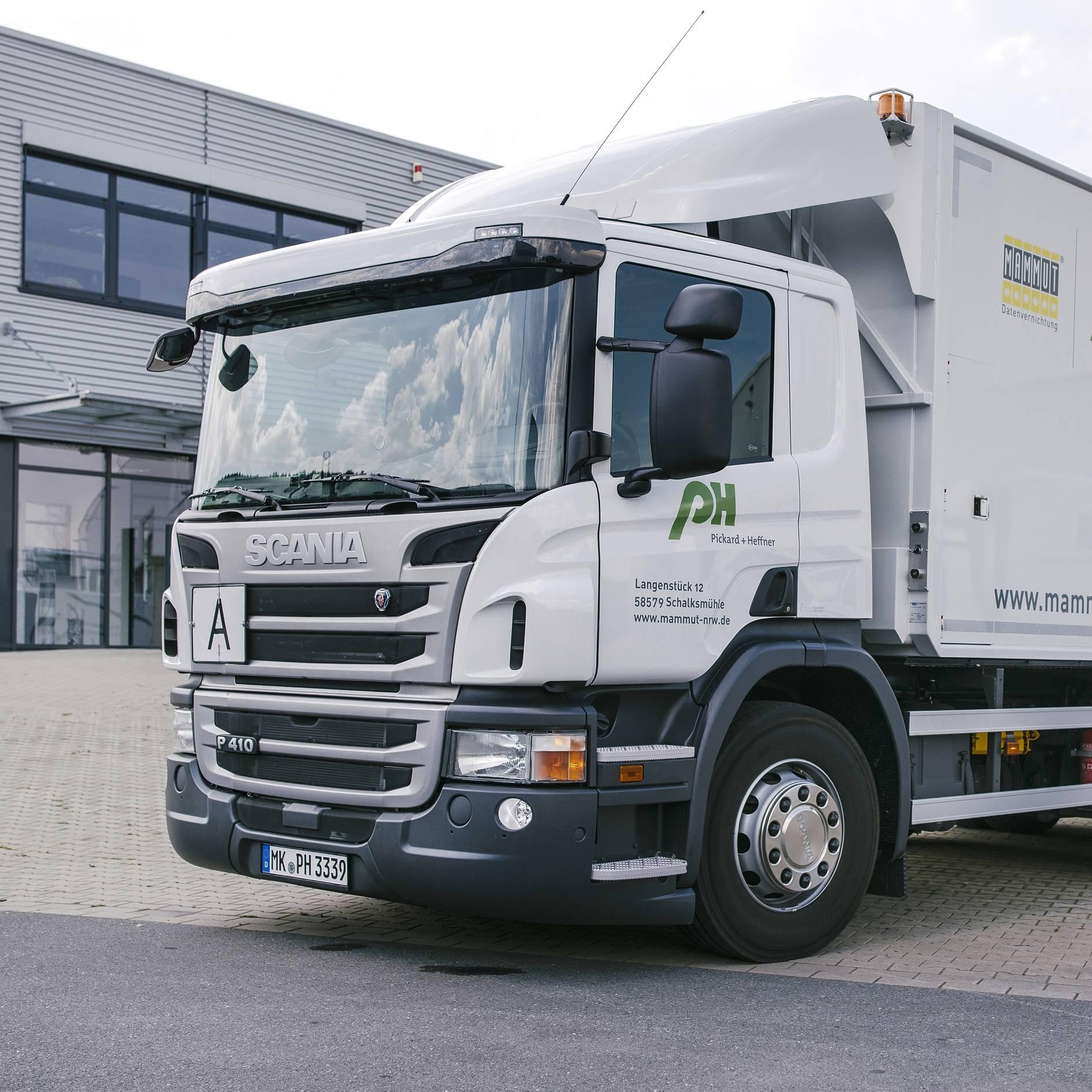 5 bis 100 kg – mobile Datenträgervernichtung in Leipzig