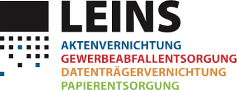 Logo der LEINS Aktenvernichtung GmbH in Balingen